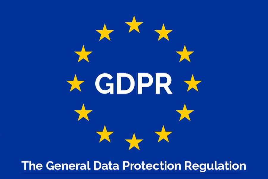 GDPR - General Data Protection Regulation - Logo EU