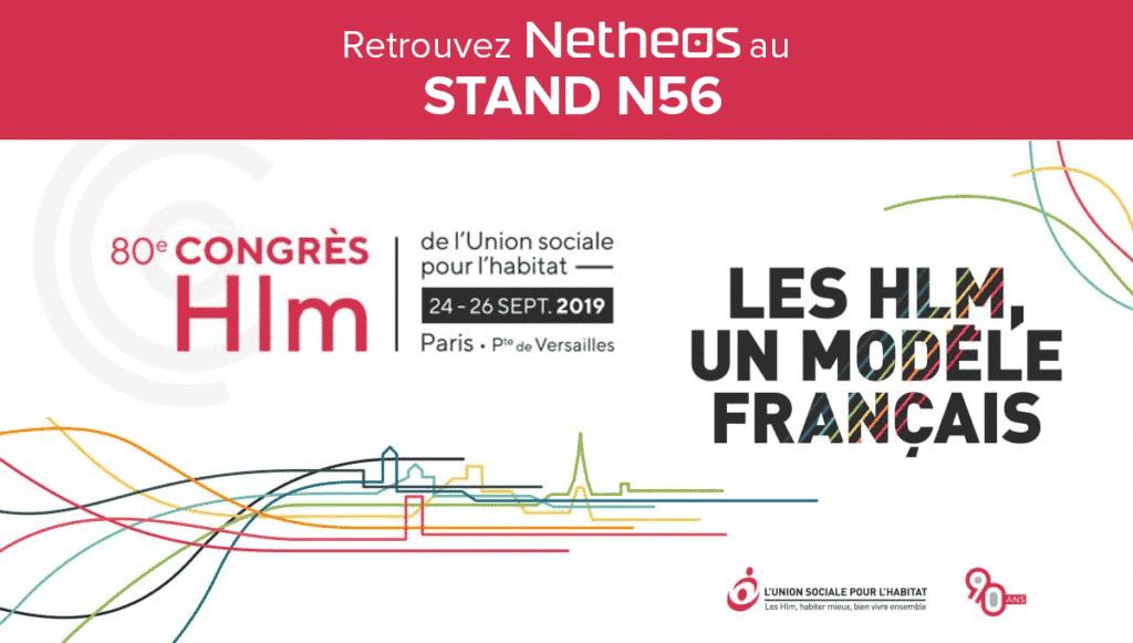 Netheos participe au Congrès HLM Stand N56 !
